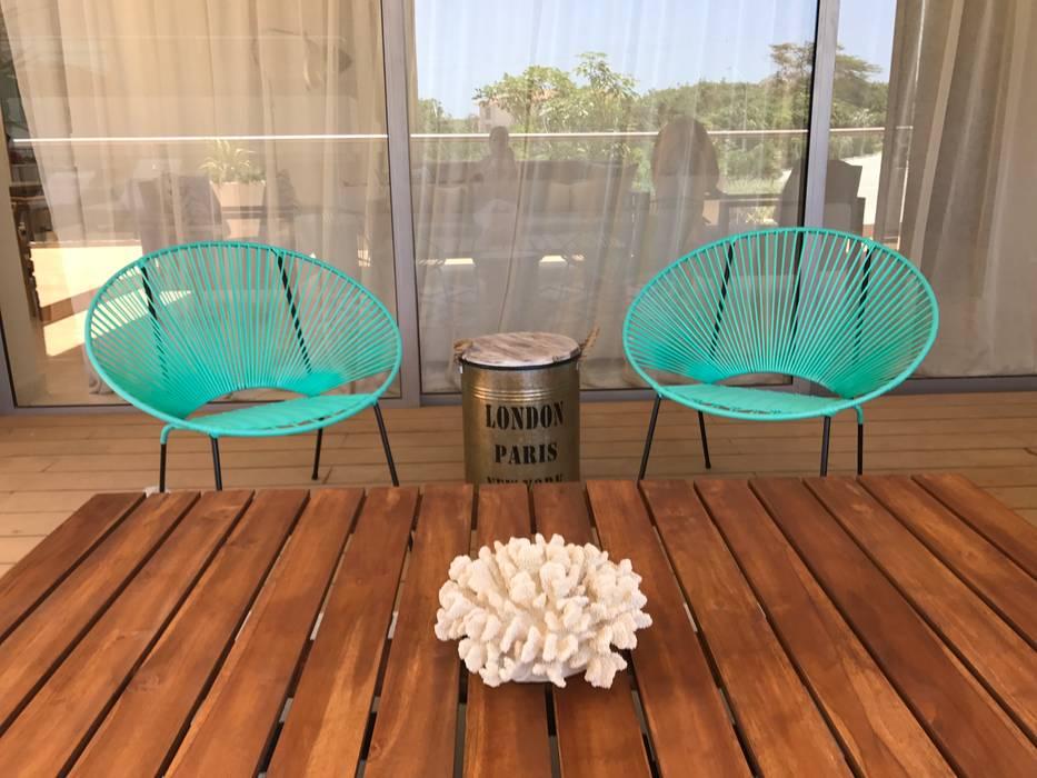Eclectische balkons, veranda's en terrassen van Ecologik Eclectisch