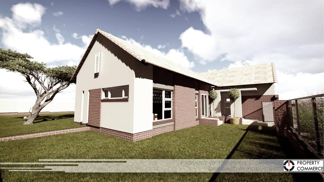 Casas de estilo moderno de Property Commerce Architects Moderno