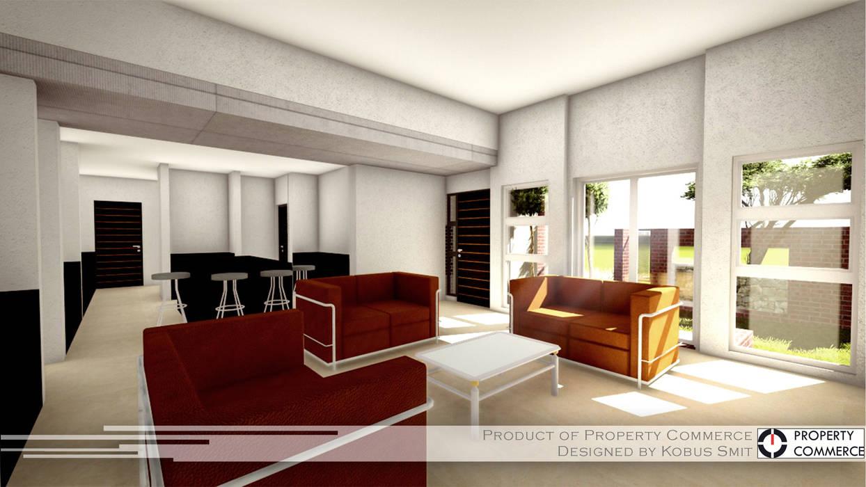 Дома в стиле модерн от Property Commerce Architects Модерн