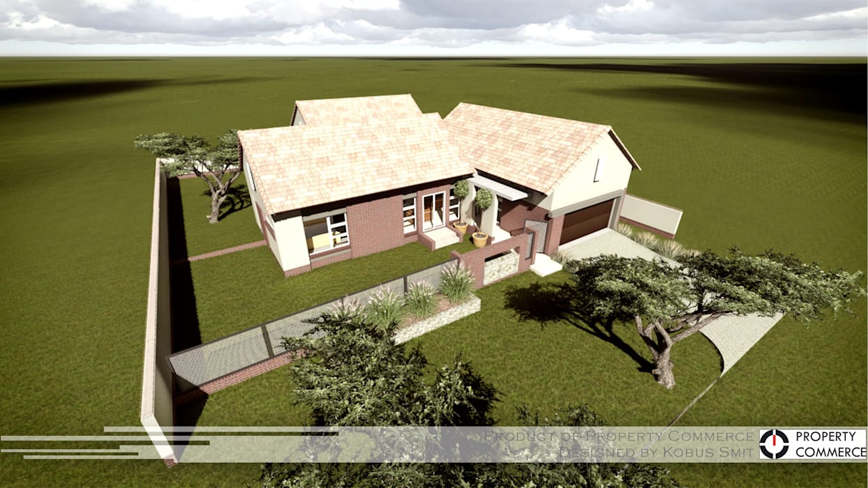 Casas estilo moderno: ideas, arquitectura e imágenes de Property Commerce Architects Moderno