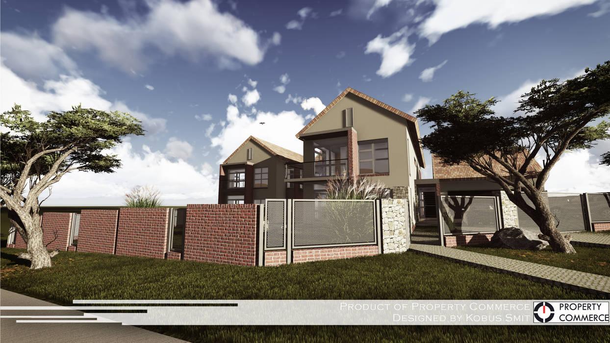 Casas modernas de Property Commerce Architects Moderno