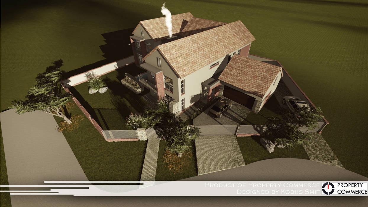 Maisons modernes par Property Commerce Architects Moderne