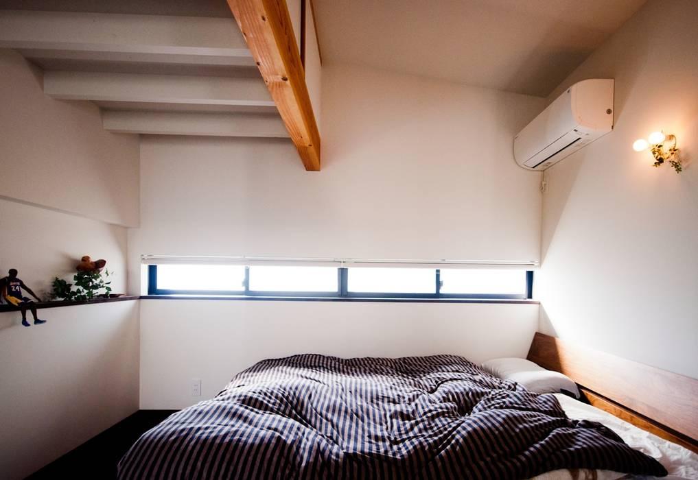 ห้องนอน by FrameWork設計事務所