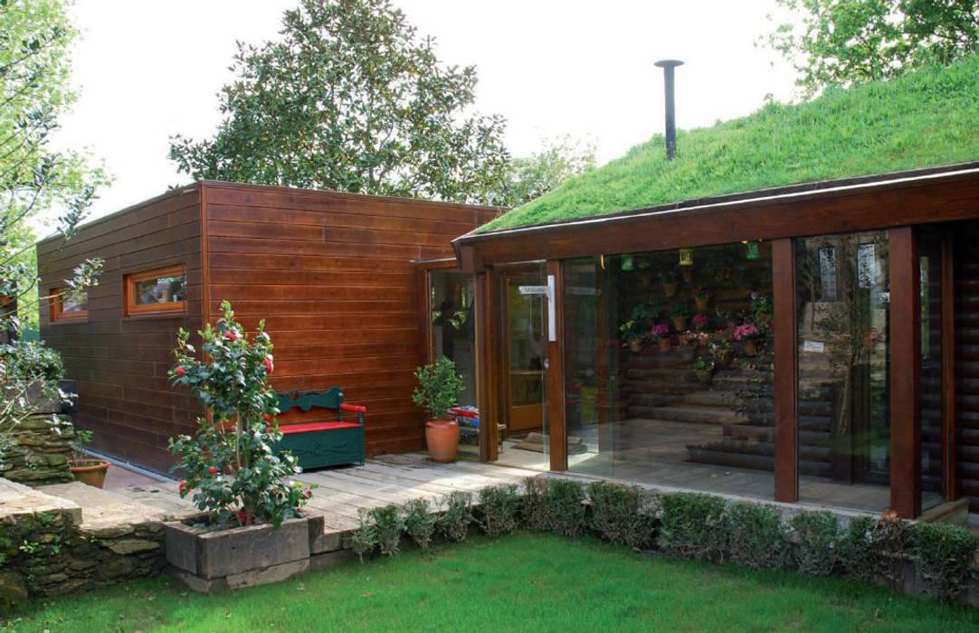 Projekty,  Dom z drewna zaprojektowane przez Rusticasa,