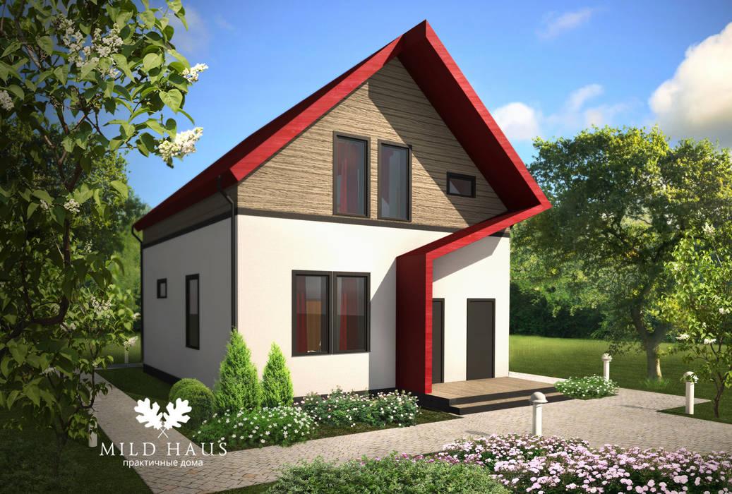 """GUEST HOUSE """"SPLINE"""": Дома в . Автор – Mild Haus"""