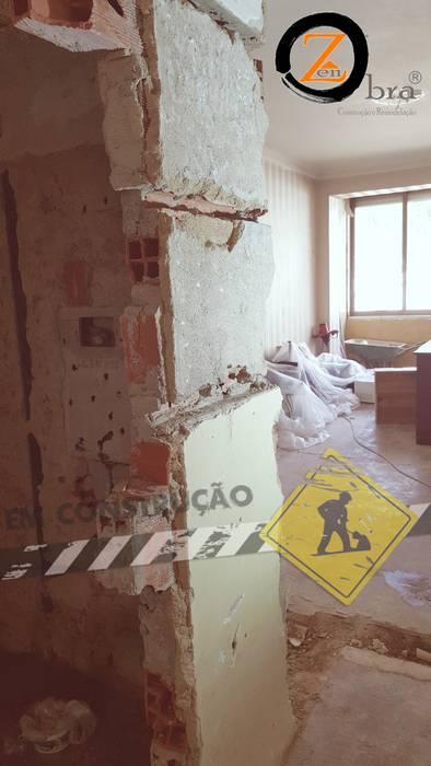 Remodelação WC e Sala por ObraZen