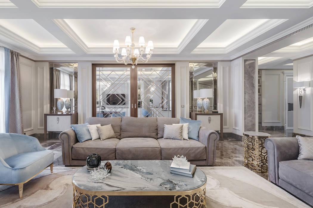 Гостиная в . Автор – NG-STUDIO Interior Design