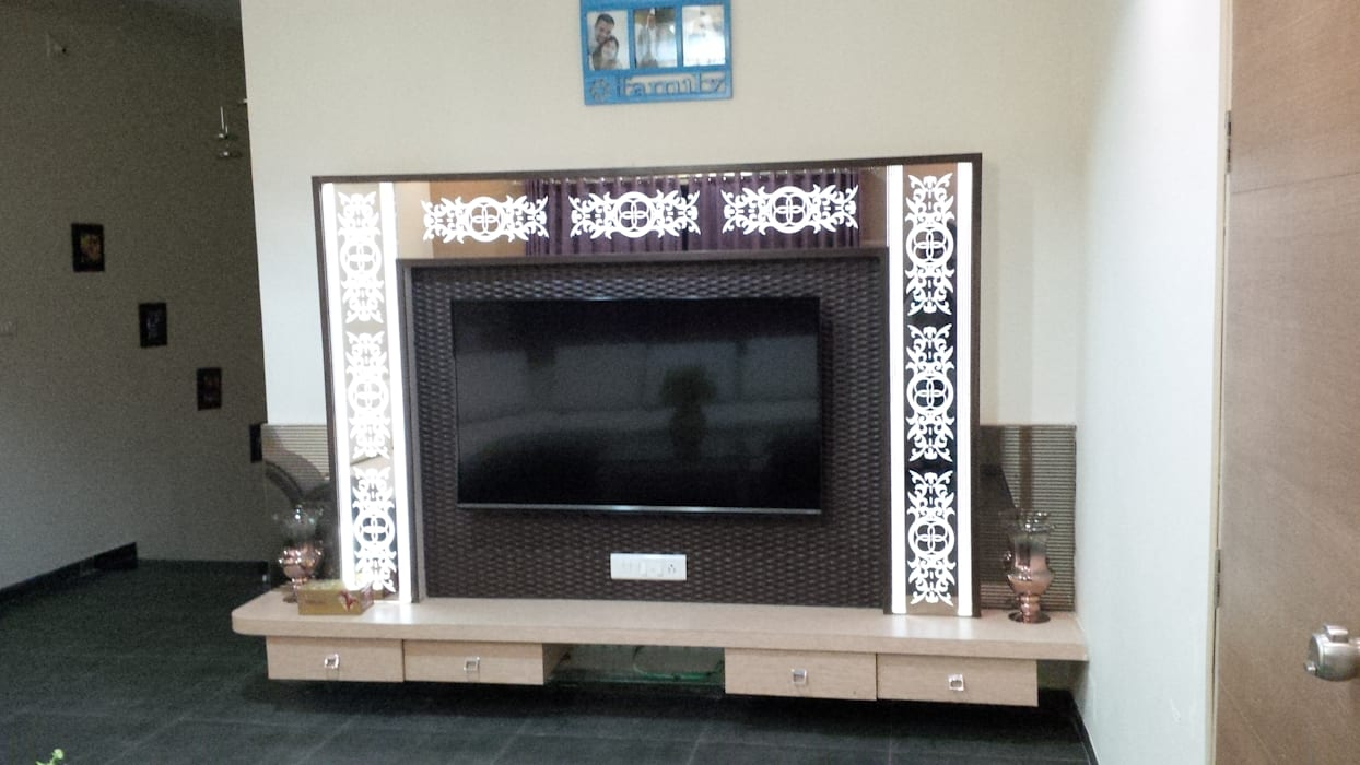 Mansi Twins AOM Interior Modern living room