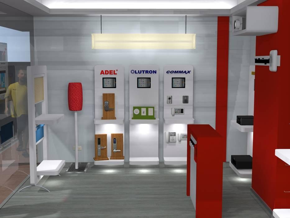 Moderne Ladenflächen von ConstruKapital Modern