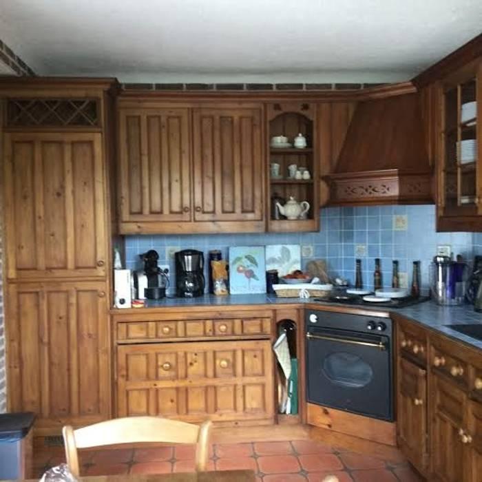 Relooking cuisine avant apres : cuisine de style par luka deco ...
