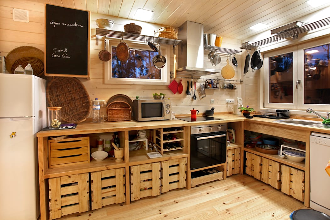 RUSTICASA Kitchen units Wood White
