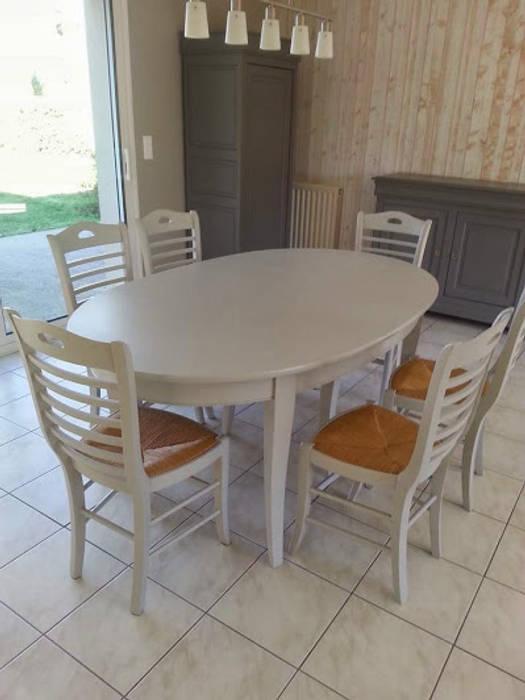 Relooking meubles merisier et escalier par luka deco design ...