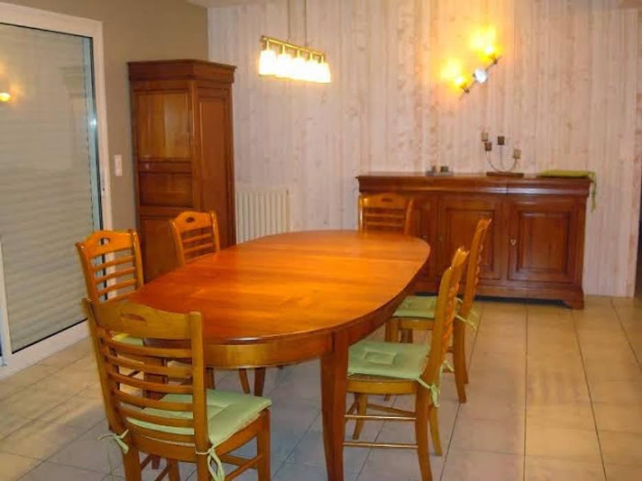 Relooking meubles avant : salle à manger de style par luka deco ...
