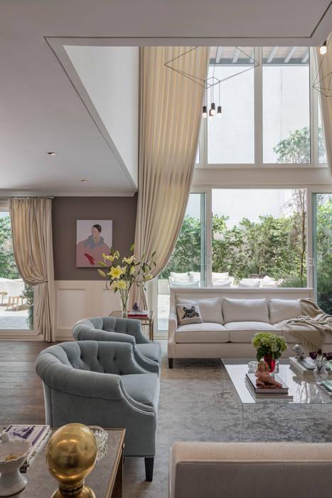MAAD arquitectura y diseño Soggiorno classico