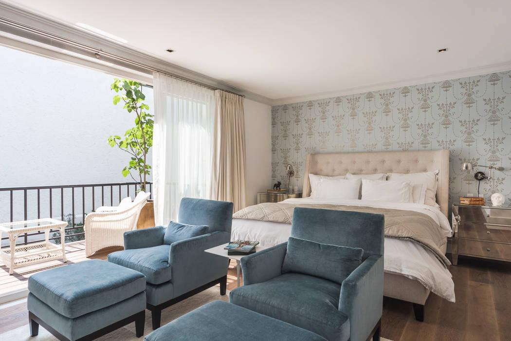 Departamento Polanco I Dormitorios clásicos de MAAD arquitectura y diseño Clásico