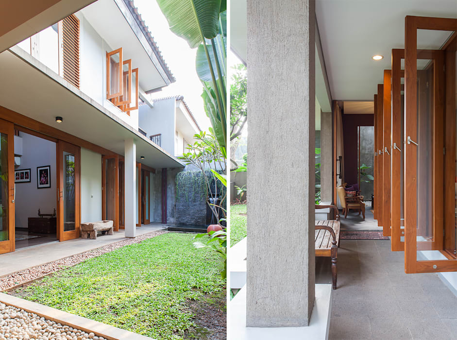 Houses by homify, Tropical Bricks