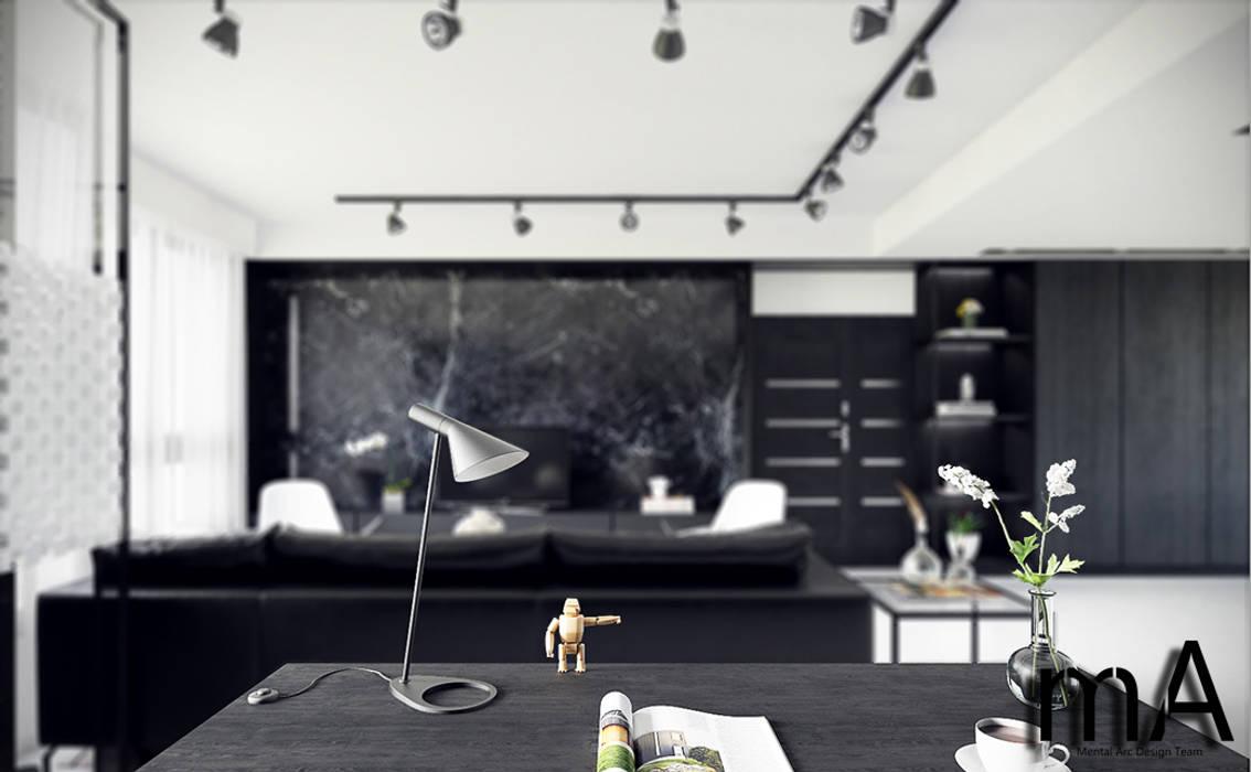 MENTAL ARC DESIGN Living roomAccessories & decoration Iron/Steel Black