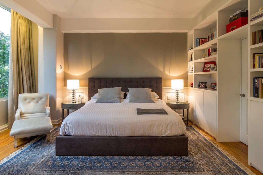 Recámara principal Dormitorios de estilo ecléctico de Weber Arquitectos Ecléctico