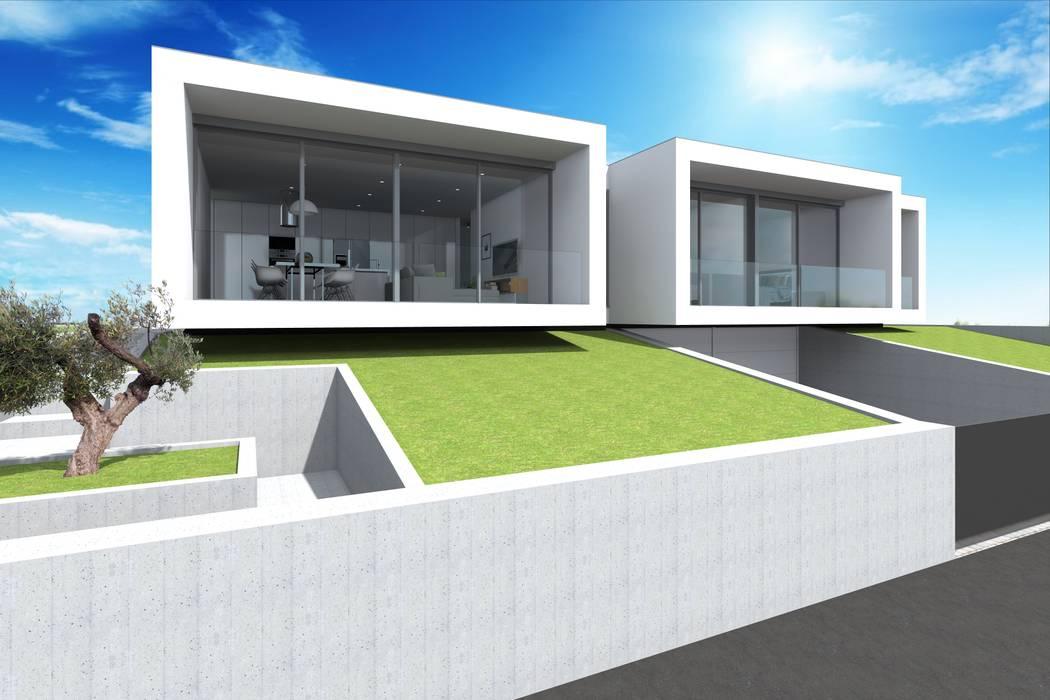 Projeto Esmeralda Casas modernas por Magnific Home Lda Moderno