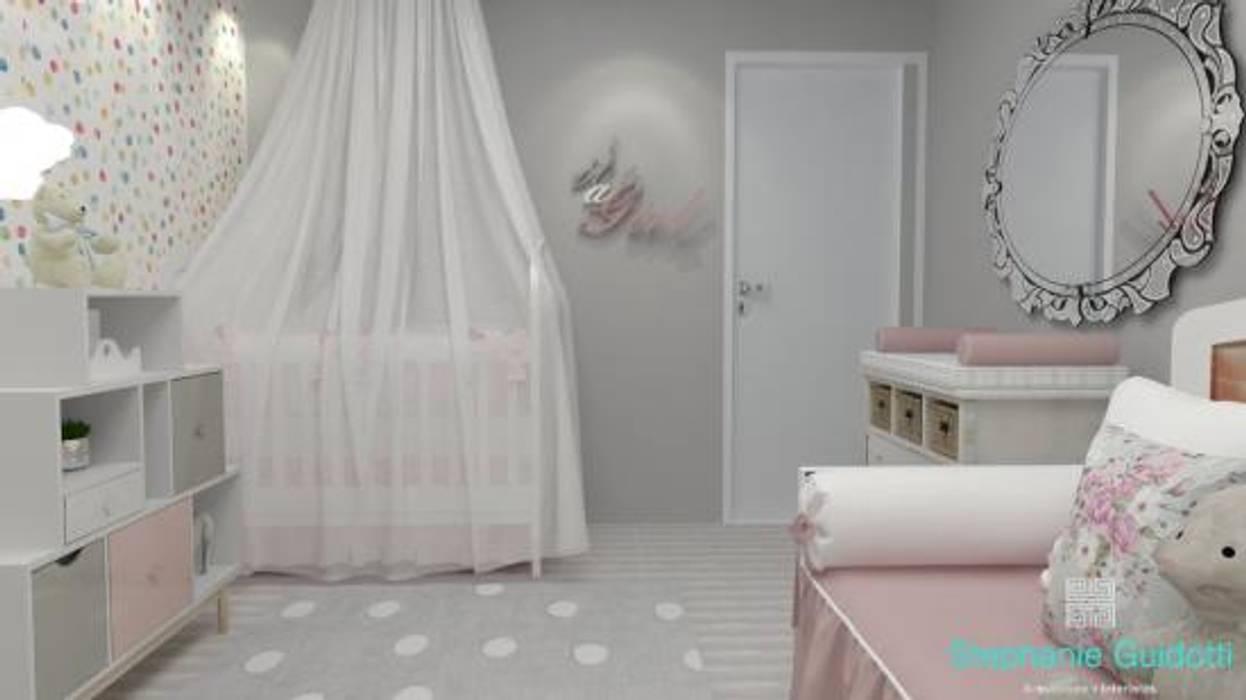 Stephanie Guidotti Arquitetura e Interiores 嬰兒房/兒童房 Multicolored