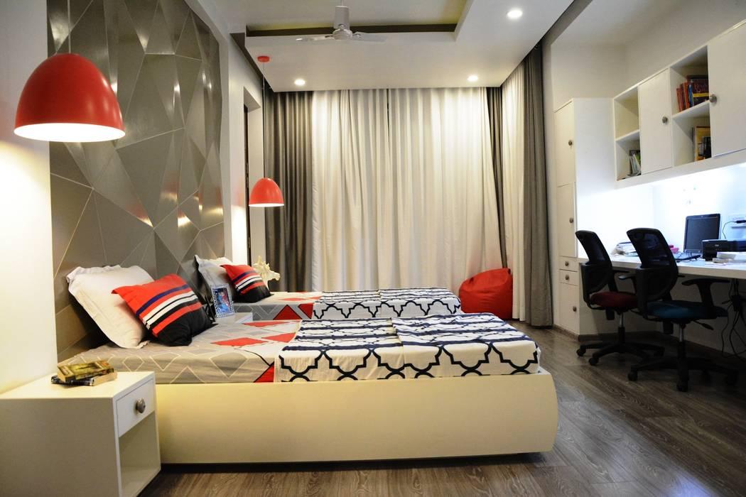 Kids Bedroom:  Nursery/kid's room by VB Design Studio
