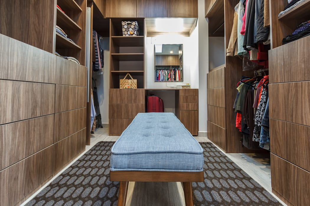 SANTIAGO PARDO ARQUITECTO Modern style dressing rooms