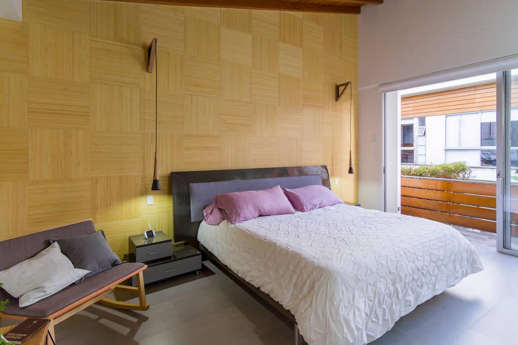 Casa mediterránea: Habitaciones de estilo  por Adrede Diseño