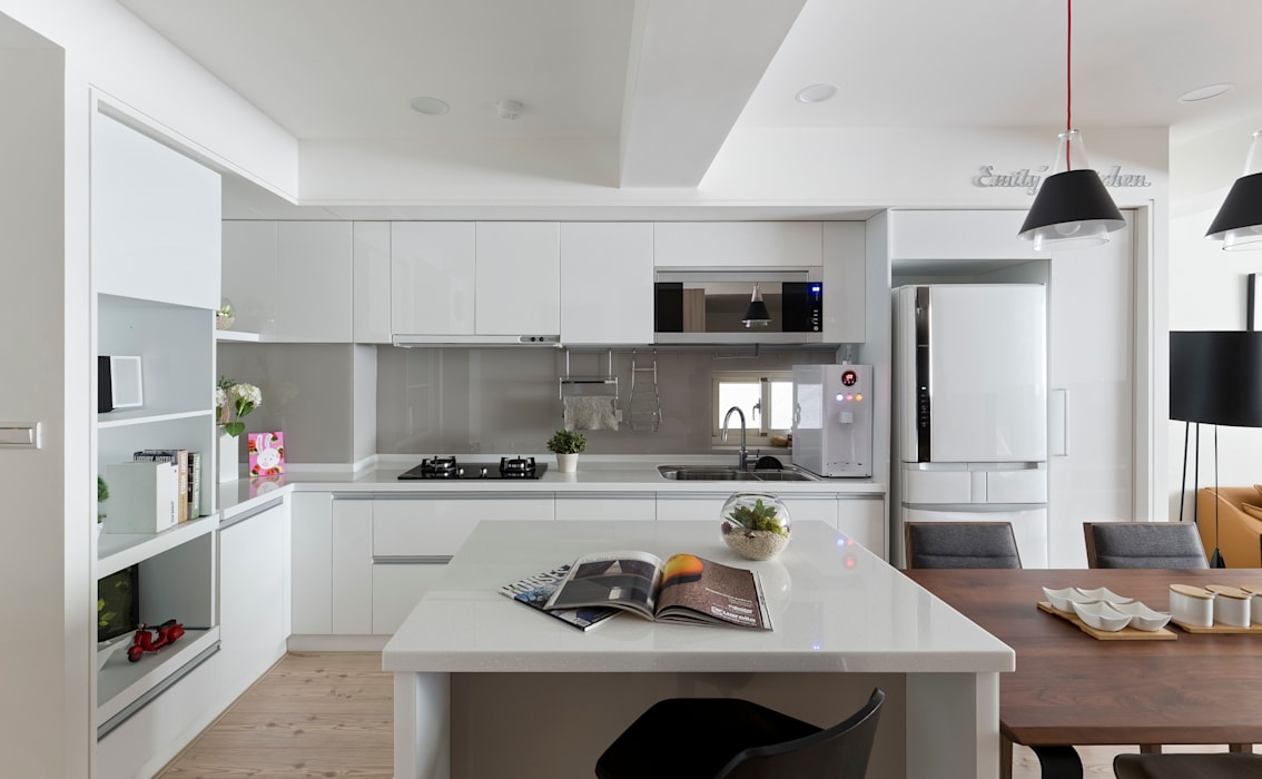 介面延伸 interface extension 耀昀創意設計有限公司/Alfonso Ideas 廚房