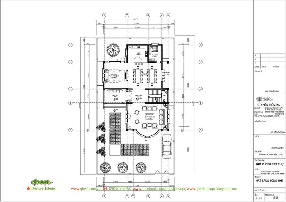 วิลล่า โดย Công ty TNHH Thiết kế và Ứng dụng QBEST, ทรอปิคอล