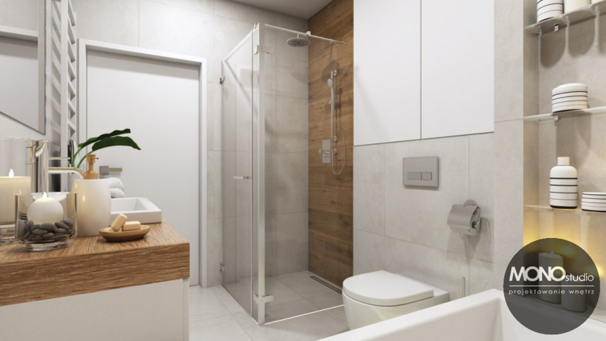 Modern bathroom by MONOstudio Modern