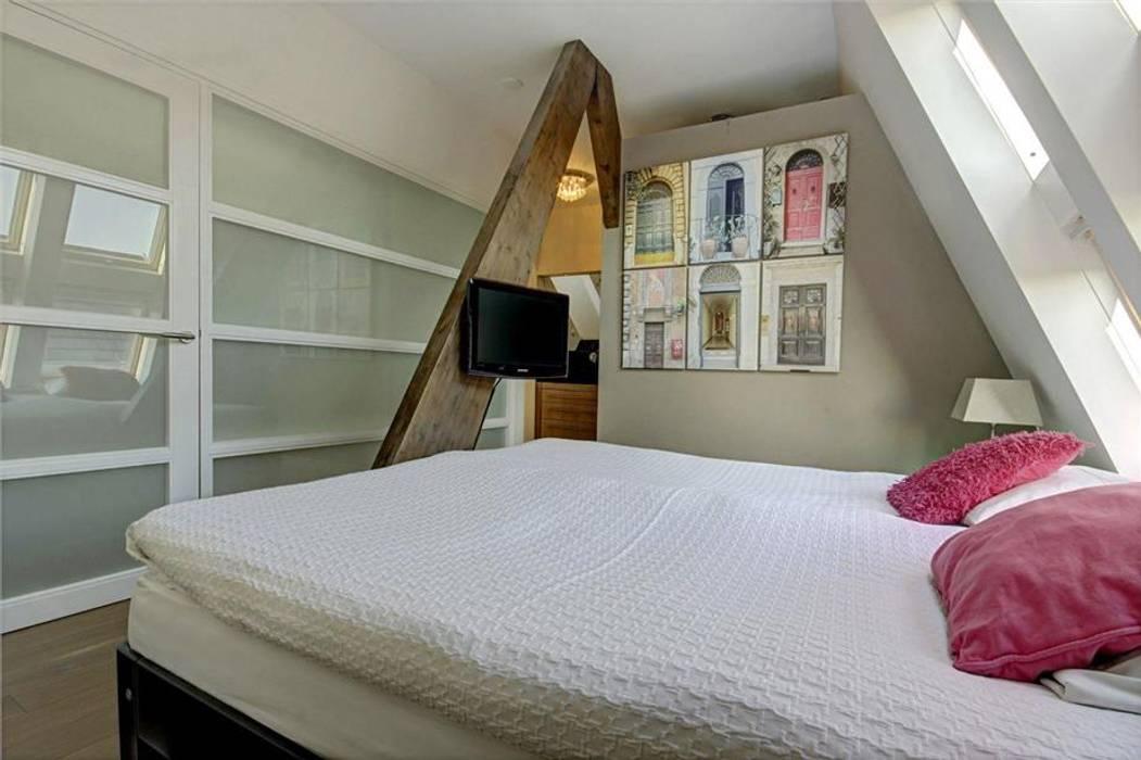 Architectenbureau Ron Spanjaard BNA Спальня в стиле лофт