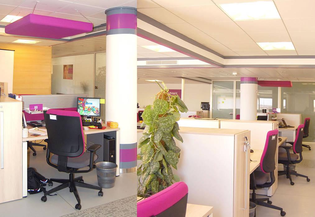 Design d'intérieur inwi: Locaux commerciaux & Magasins de style  par Studiumcasa