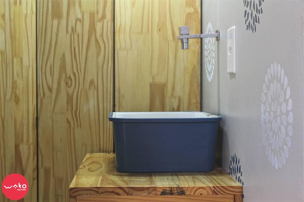 Baños de estilo ecléctico de WAKO Design de Interiores Ecléctico