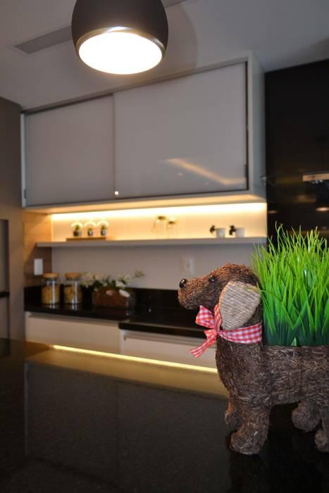 Apartamento Verena Join Arquitetura e Interiores Cozinhas modernas