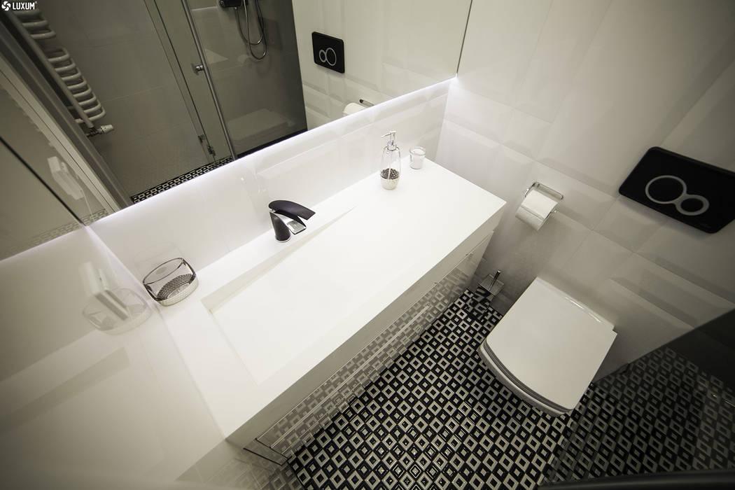 Luxum Baños de estilo escandinavo Blanco