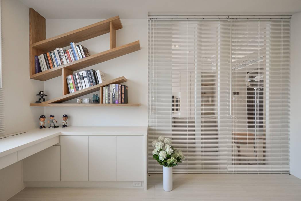 書房:  書房/辦公室 by 存果空間設計有限公司