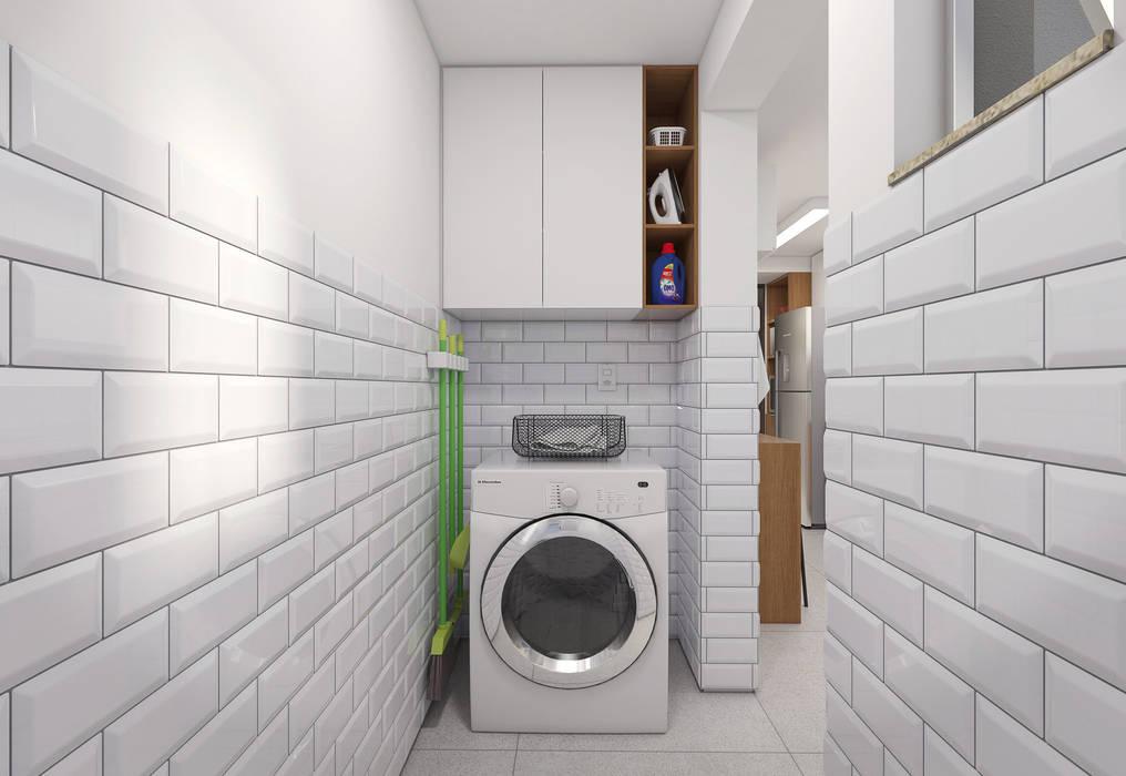 Área de Serviço: Cozinhas  por Filipe Castro Arquitetura   Design,