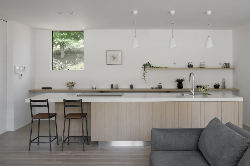 Kitchen by atelier137 ARCHITECTURAL DESIGN OFFICE, Scandinavian Wood Wood effect