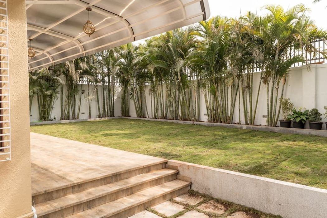 Rishi Villa - Pune Modern garden by Aesthetica Modern