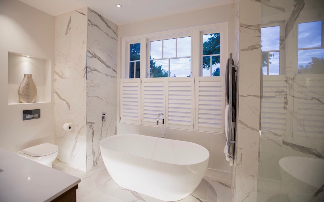 Bathroom by Studio K Design, Modern