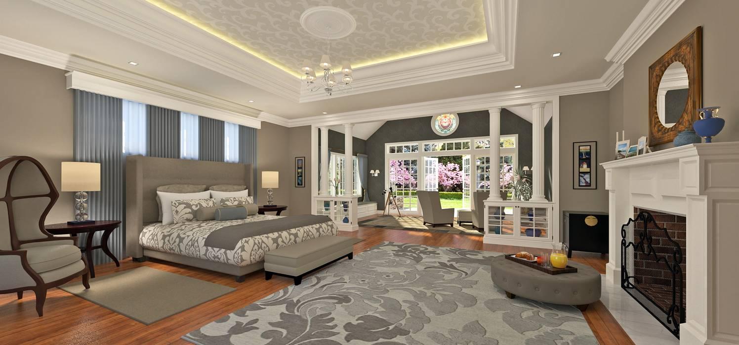 Refurbishment of a Villa in Calvia Mediterranean style bedroom by Mallorca Living Quality Mediterranean