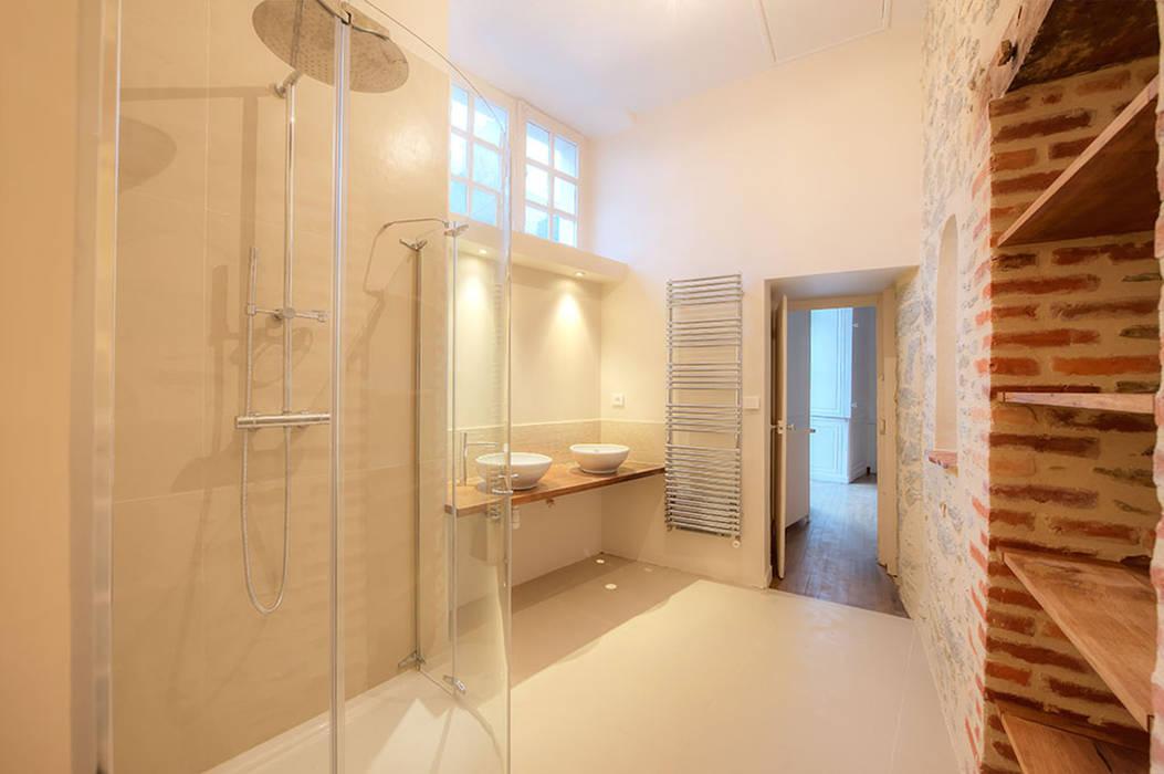 7 - Salle de bain Salle de bain originale par Atelier Claire Dupriez Éclectique