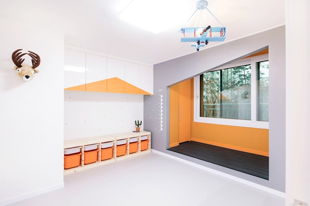 Modern Kid's Room by 지오아키텍처 Modern