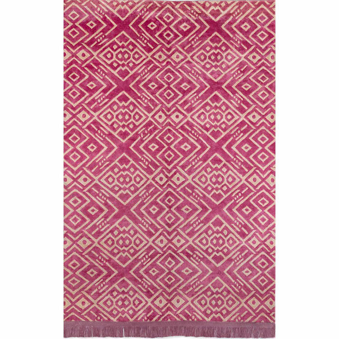 'Hippy' Unique luxury rectangular rug by Sitap by My Italian Living Сучасний Шовк Жовтий