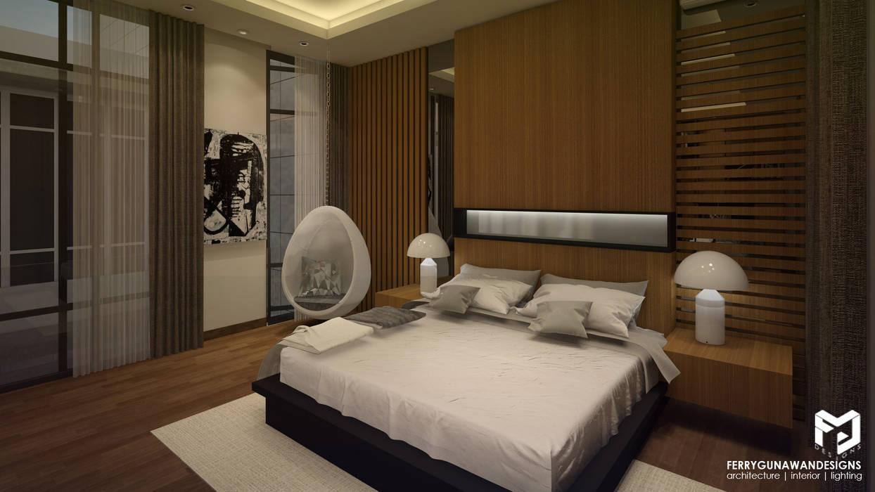 Master Bedroom Kamar Tidur Modern Oleh FerryGunawanDesigns Modern