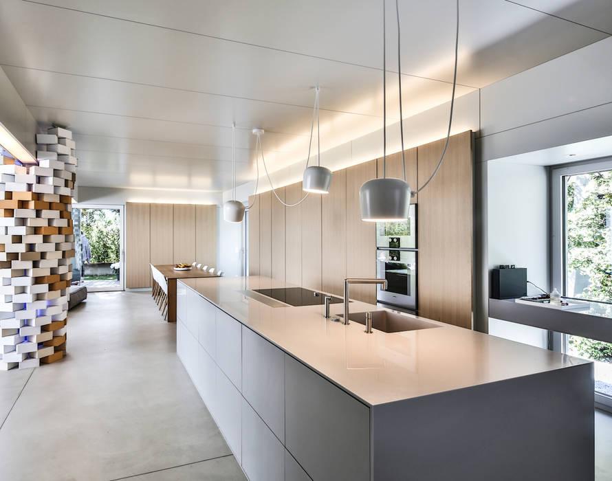 Villa di legno lugano fotografia architettura esterni e for Design casa interni
