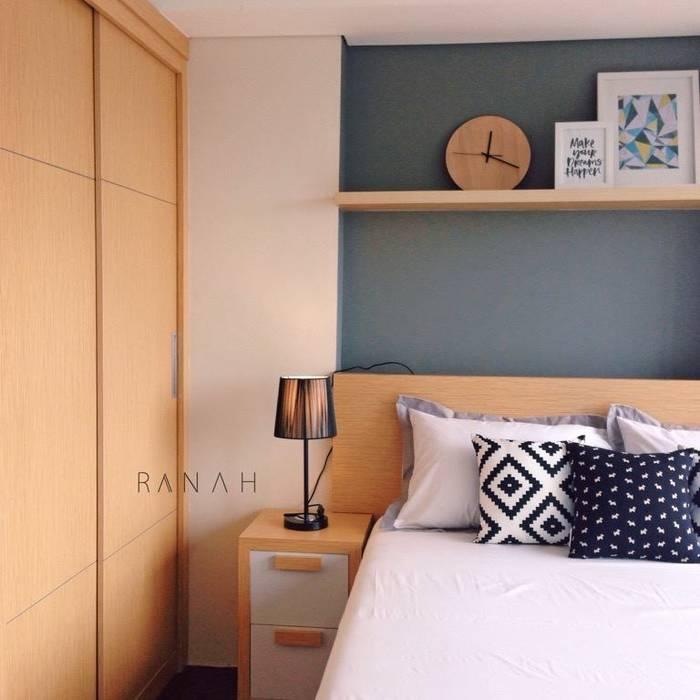 Skandinavische Schlafzimmer von RANAH Skandinavisch
