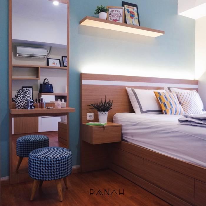Studio Apartment - Margonda Residence 2 Kamar Tidur Modern Oleh RANAH Modern