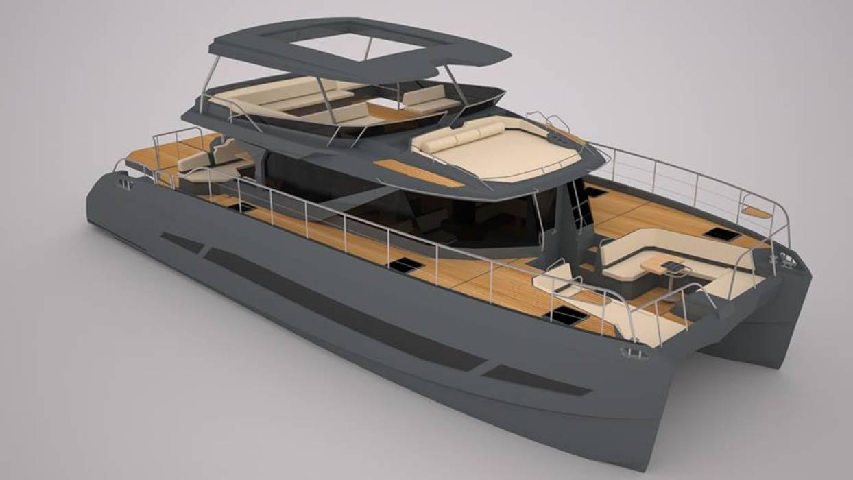 Yachts & Jets de style  par Levolú Interiores e Arquitetura, Moderne
