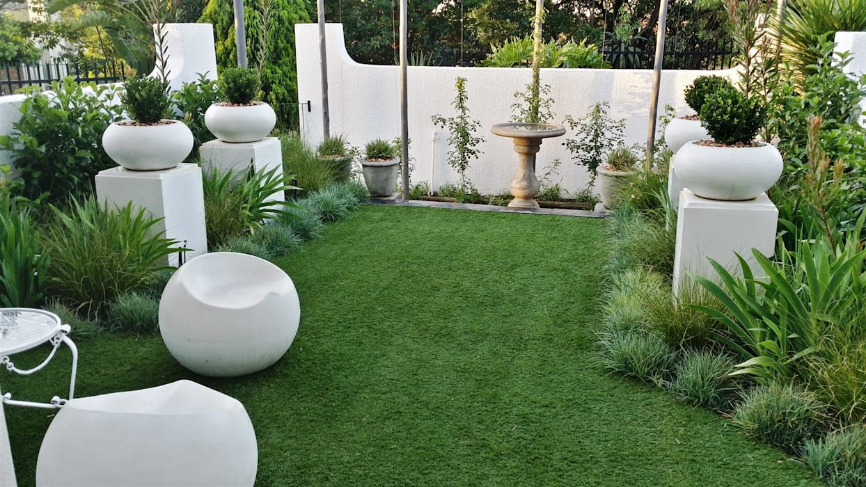 Jardin de style  par Gorgeous Gardens, Moderne